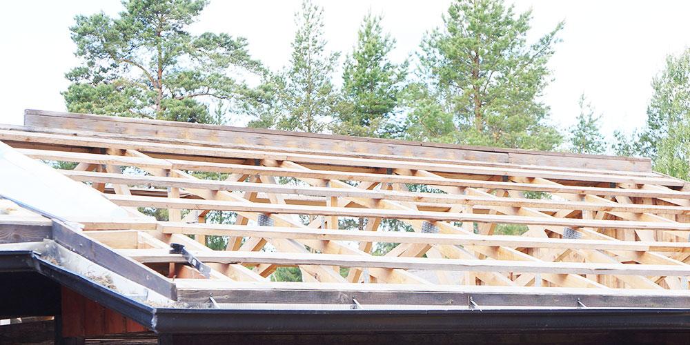 Kattotuolin ja kattoristikon asennus
