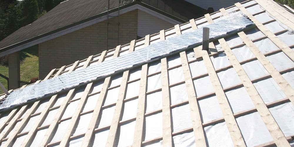 Kattotyöt - Aluskatteiden asennus