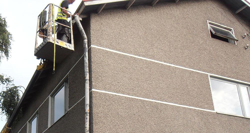 Kiinteistön katon huolto
